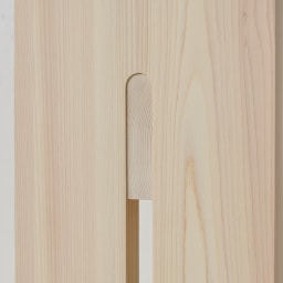 ambai(アンバイ) 風呂道具シリーズ 風呂椅子 大(ハイタイプ) 側面:細部にわたりこだわりの作り