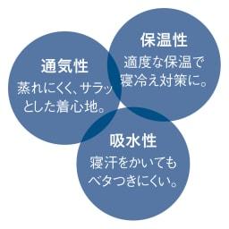 UCHINO(ウチノ) マシュマロガーゼパジャマ ダブルストライプ レディース 快適な眠りに必要な3つのポイント