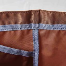 ORU tote(折るトート) しっかり底の折り畳みエコバッグ 都内の職人さんがしっかり丁寧に縫製していて頑丈な作りに。