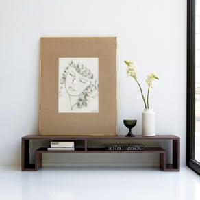SHOJI ショージ オケージョナルテーブル 幅140高さ30cm リビングテーブル[abode(アボード)/デザイン:ウー・バホリヨディン] 写真