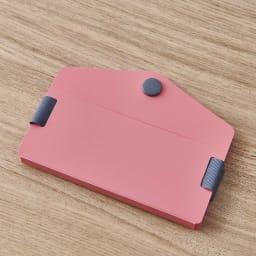 ORU tote(折るトート) しっかり底の折り畳みエコバッグ (ア)色のカードホルダー