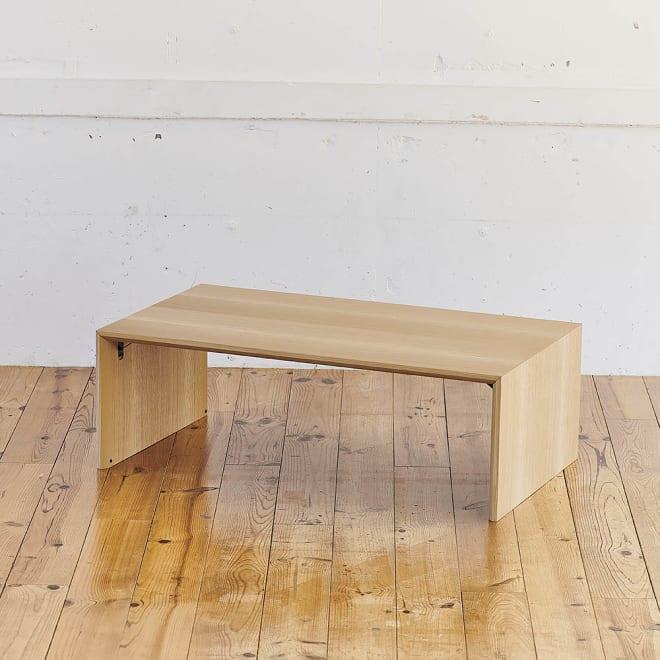 Slim すっきり折りたたみ可能なテーブル105 シンプルで高級感あるデザインは、和室にも洋室にも合います。