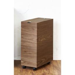木目調ダストボックス 容量45L(引き出しなしタイプ) (ア)ブラウン系