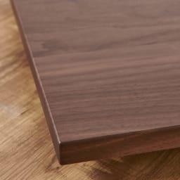 キャスター付きプランターベース ウォールナット 角40cm 高級感漂うウォルナット天然木はお部屋のインテリアをワンランクアップしてくれます。