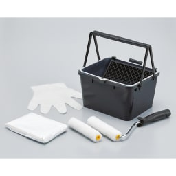 北欧デザイン透けるウォールシート2ロール+作業用道具付き 必要な道具をセットにしてお届け。商品が届いたらすぐに作業できます。