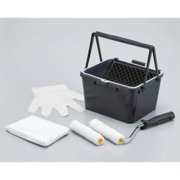 北欧デザイン透けるウォールシート6ロール+作業用道具付き 必要な道具をセットにしてお届け。商品が届いたらすぐに作業できます。