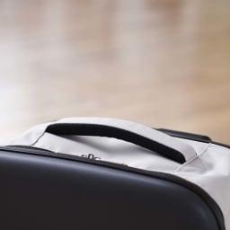 ROLLINK 薄くたためるスーツケース容量40L/機内持ち込みサイズ 持ち手部