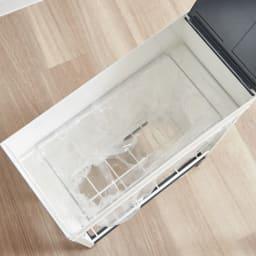 ミヤケデザイン ダストボックス 30L スチール脚タイプ(蓋なし・蓋付き) 20~30L袋枠は1分別用
