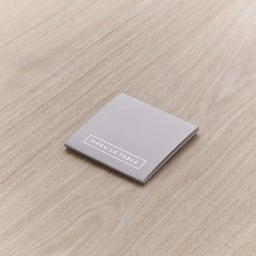 HAKU LA TABLE(ハク ラ ターブル) コースター同色2枚組(約10×10cm) ギフトにも喜ばれるパッケージ入り