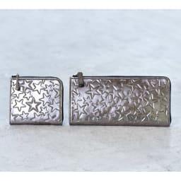 Coquette/コケット コンパクト財布 Coquette/コケット財布 ※左からコンパクト財布、L字ファスナー長財布