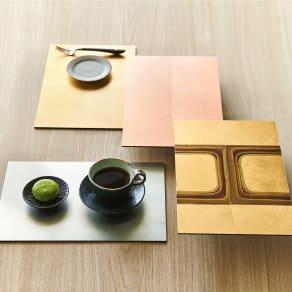 HAKU LA TABLE(ハク ラ ターブル) ティーマット1枚(約20×30cm) 写真
