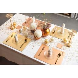 HAKU LA TABLE(ハク ラ ターブル) テーブルマット1枚(約30×40cm)