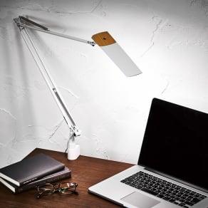 LEDエグザーム デスクライトDIVA(ディーバ) クランプタイプ 写真