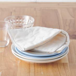 パシーマ(R)たっぷり水吸いサラリと乾く!キッチンふきん(M2枚組) 写真