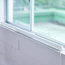 結露と冷気を抑制 窓際ヒーター 幅120~190cm伸縮 約1.73kg・120W
