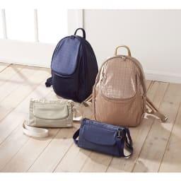 ヤマト屋 多収納お財布ショルダー ※お届けの商品はお財布ショルダーです。 左から (イ)プラチナ (ウ)ムラサキ
