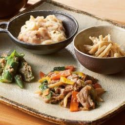 糖質制限7食セット 「家常豆腐」。食べたい時にすぐ食べられる、主菜1品・副菜3品の糖質コントロールメニューで健康づくりを。