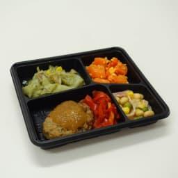 糖質制限7食セット ズッキーニとチキンのトマト煮 【メイン】ズッキーニとチキンのトマト煮 【副菜】あさりと玉葱の酒蒸し/サウザンサラダ/ほうれん草のおかか和え