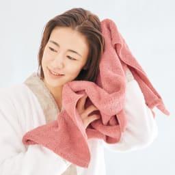 エアーかおる XTC(エクスタシー)シリーズ エニータイムタオル 同色2枚組 (イ)ローズ ロングヘアの人ほど恩恵あり。髪を乾かす時間の短縮に。スポーツ時の汗拭きタオルとしても重宝。