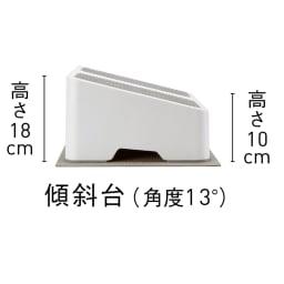 AEROLIFE/エアロライフ ツインステップス 傾斜約13度。立つことでふくらはぎのストレッチにも。