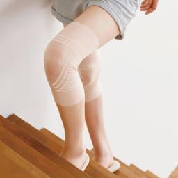 極薄Wライン構造ひざサポーター 2個組 階段の昇り降りもラクに。