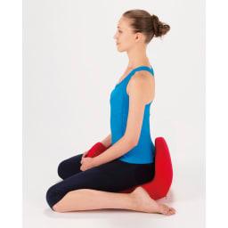 Micaco(ミカコ)監修 骨盤ビューティー コアスリム 《1.整える》 座りグセや普段の姿勢で傾いてしまった骨盤を、仙骨をナビゲートすることで整った位置へ戻し、座るだけでキレイな姿勢に。