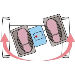 AEROLIFE/エアロライフ ターンステッパー 負荷の軽い大きな円運動