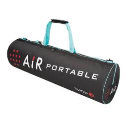 西川 エアーポータブル モバイルマット 持ち運びに便利なナイロンバッグ
