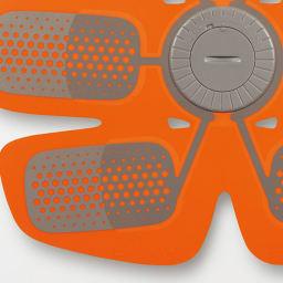 SIXPAD/シックスパッド Body Fit(ボディフィット) 1個 電極 薄く耐久性の高いシルク印刷を採用。効率的にジェルシートへ電気を届ける。(画像はAbs Fitのものです)