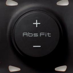 SIXPAD/シックスパッド Body Fit(ボディフィット) 1個 操作部(電源/レベル切り替え) 15段階のレベル調整が可能。+ボタンの長押しでスタートという簡単さ。(画像はAbs Fitのものです)