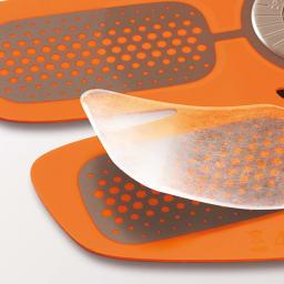 SIXPAD/シックスパッド Body Fit(ボディフィット) ジェルシート 2枚×6セット 高電導ジェルシート ベタつかないのに粘着力に優れた装着用シート。均一に電気を伝える。