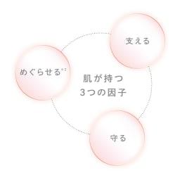 ReFa/リファ リファビューテックレイズ 肌本来が持つ3つの力に着目したプログラムに基づき開発。