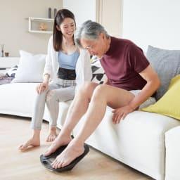 【送料無料】SIXPAD/シックスパッド Foot Fit(フットフィット) ジェルパッド不要だから家族みんなで使っていただけます。