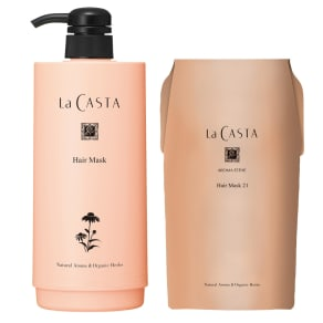 La CASTA/ラ・カスタ ヘアマスク21 リフィル(600g)+専用ボトル 写真