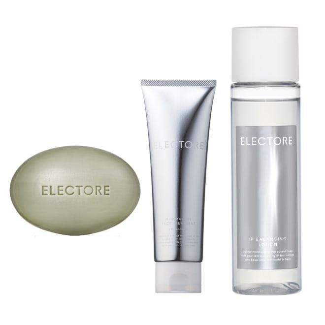 ELECTORE/エレクトーレ 肌の力をいかす3ステップケアセット