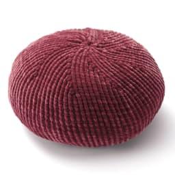 太モールベレー帽 (イ)ワイン