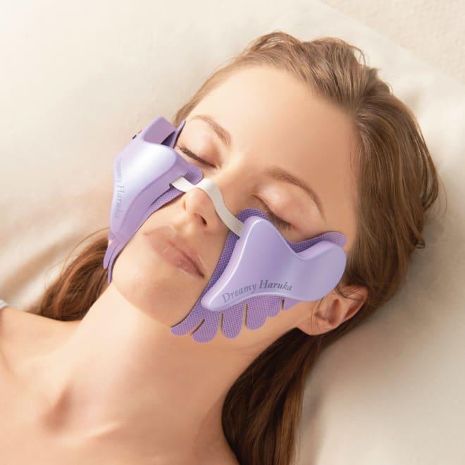 ドリーミーハルカ ピタッと顔に貼るだけで毎分1万回の振動の心地よい刺激!