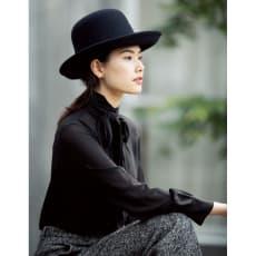 ハンサムフェルト帽