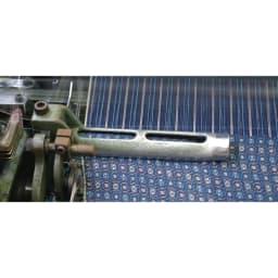 久留米織 シャツチュニック 福岡県の久留米地方で古くから作られている伝統的な久留米織。柔らかく、親しみのある風合いがどこか懐かしく感じます。