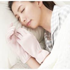 シルクBEAUTY おやすみ手袋 (2セット)