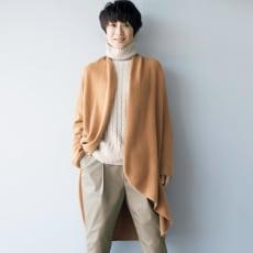 「BABY CASHMERE TOYOBOSHI(R)」 2WAY カーディガン