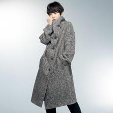 「NIKKE」 カシミヤ オックス ツイード コート