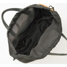 Cachellie/カシェリエ 牛革使い アラログ バッグ INSIDE