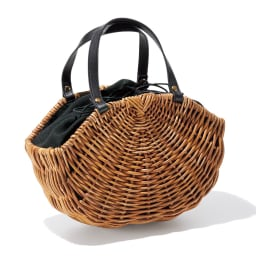Cachellie/カシェリエ 牛革使い アラログ バッグ
