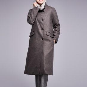 【着丈100cm】 コロンボ社 オリラグファー付き ダウンコート 写真