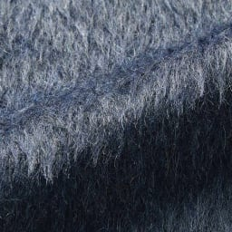 イタリア素材 レオパード ジャカード シャギーコート 生地アップ