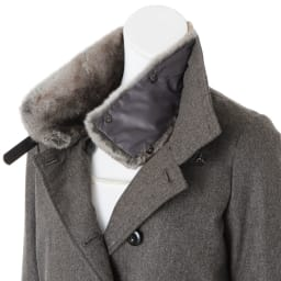 コロンボ社 オリラグファー付き ダウンコート ※インナーは含まれません。