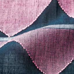 インド製 ジャカード織り コットン ストール 生地アップ