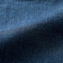 ジャージーライク デニムジャケット 表面 (イ)インディゴ