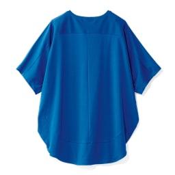 コットンスムース コクーン Tシャツ BACK